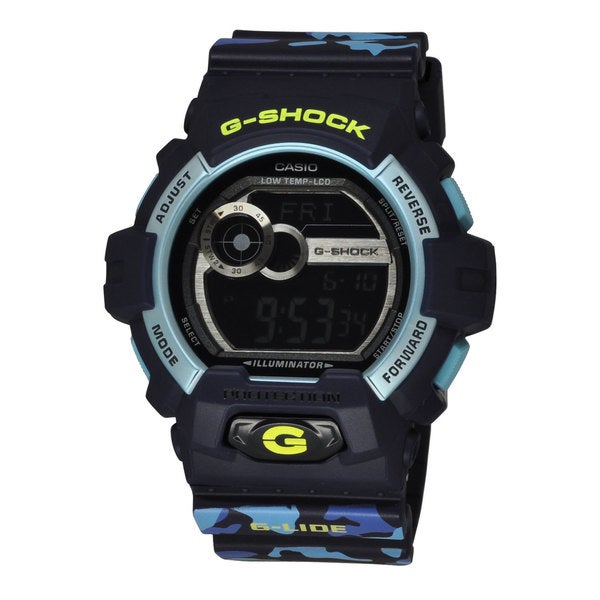 Casio Men's GLS8900CM-2 G-Shock Blue Watch