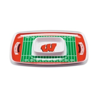 Wisconsin Badgers Chip and Dip Tray