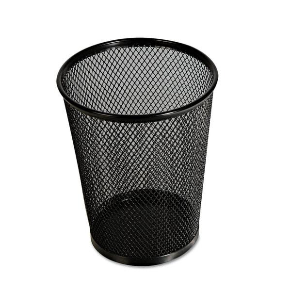 Universal One Jumbo Black Mesh Pencil Cup (Pack of 10)