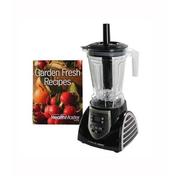 Montel Williams 8 Speed Health Master Elite 1200W Blender Juice Food Processor