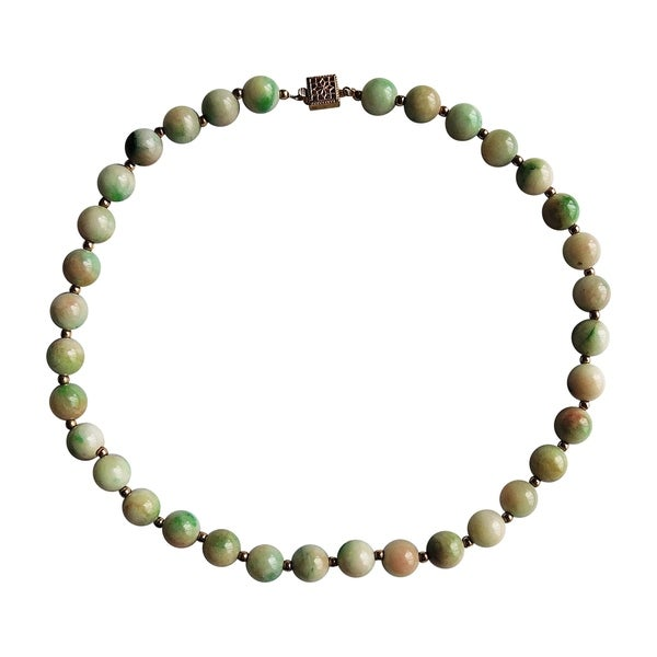Marbled Jade Necklace