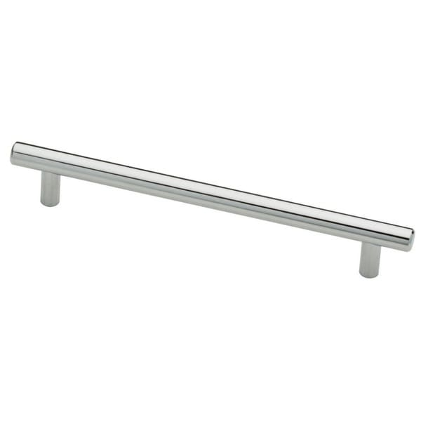Value Luxury Hardware 9-inch Stainless Steel Chrome Finish Bar Cabinet and Drawer Pull Handle (Pack of 10)