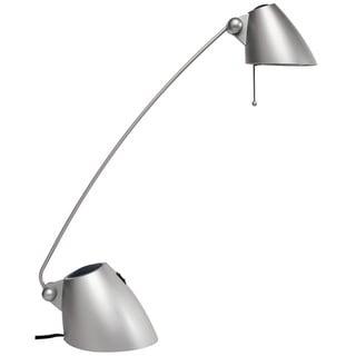 Dainolite Halogen Desk Lamp in Silver Painted finish