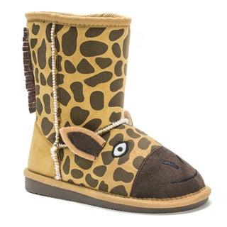 Muk Luks Kids' Gabby Giraffe Boots