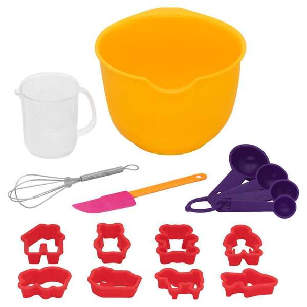 Baker's Secret Kids Baking 18-piece Set