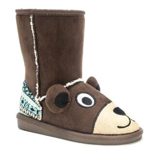 Muk Luks Kids' Teddy Bear Boots