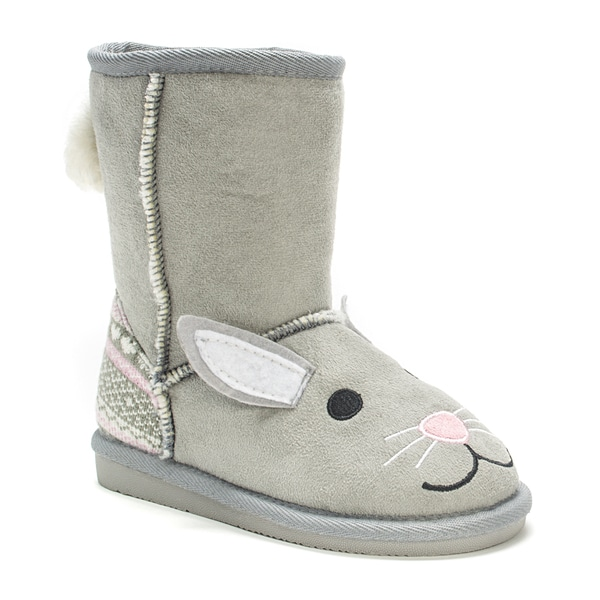 Muk Luks Kids' Trixie Bunny Boots