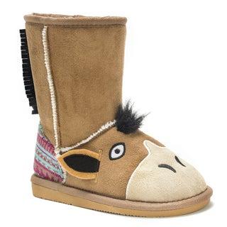 Muk Luks Kids' Scout Horse Boots