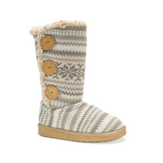 Muk Luks Girls' Vanilla Malena Boots