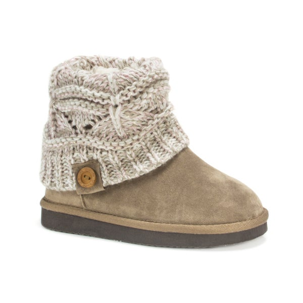 Muk Luks Girls' Vanilla Patti Boots