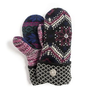 Muk Luks Women's Holiday Traditions Potholder Mittens