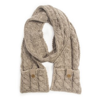 Muk Luks Women's Braided Cable Scarf