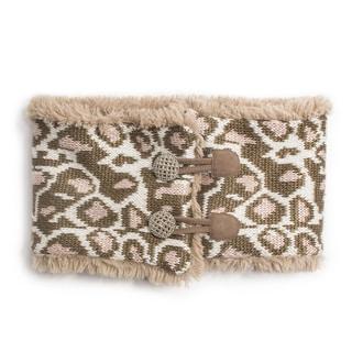 Muk Luks Women's Leopard Neck Warmer