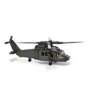 Ultimate Soldier XD UH-60 Multi Role Helicopter Military Building Construction Set