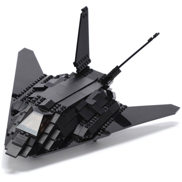 Ultimate Soldier XD Stealth Fighter Jet Military Building Construction Set 15936607