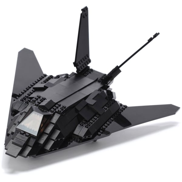 Ultimate Soldier XD Stealth Fighter Jet Military Building Construction Set