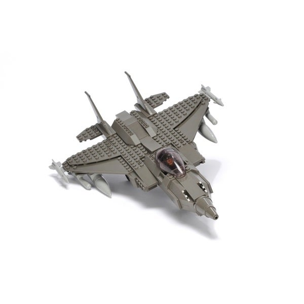 Ultimate Soldier XD F-18 Fighter Jet Military Building Construction Set 15936618