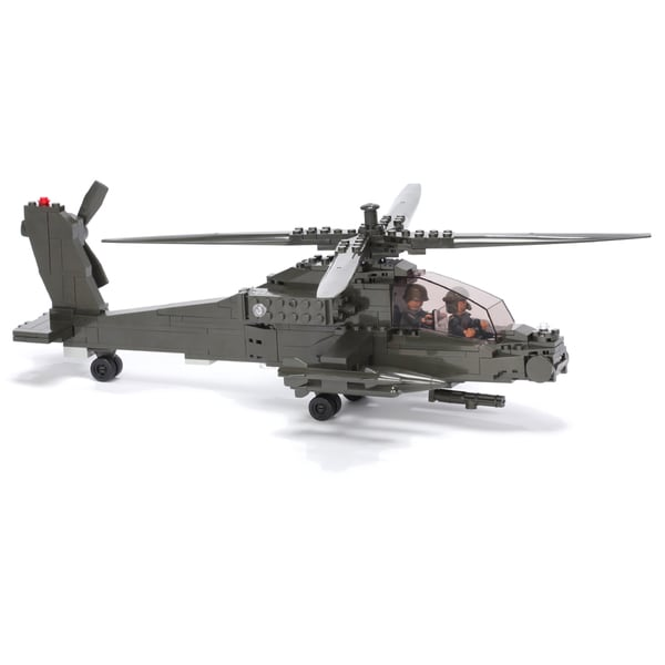 Ultimate Soldier XD XH-64 Attack Helicopter Military Building Construction Set 15936635