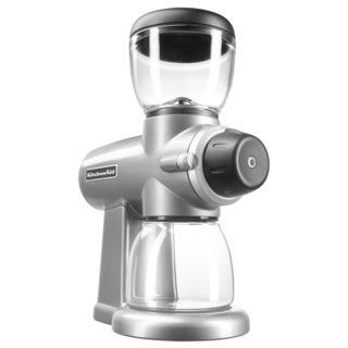KitchenAid KCG0702CU Contour Silver Burr Coffee Grinder