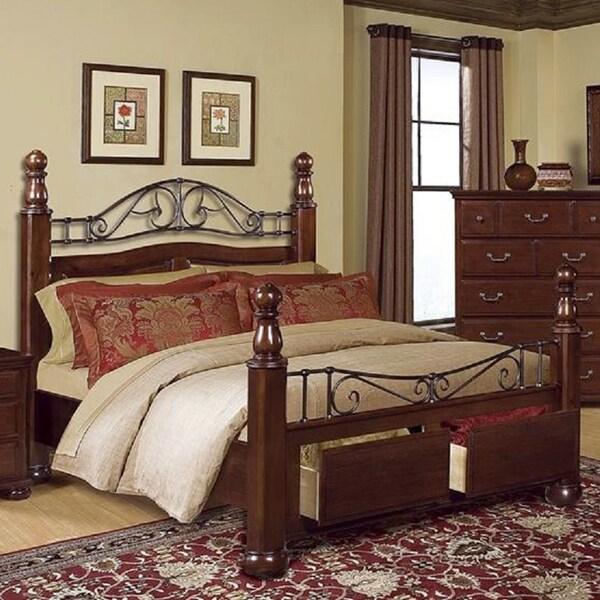 Alpine King Storage Bed