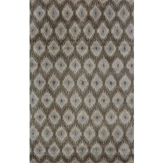 Belize 07 Brown Handtufted Rug (8'x11')