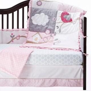 Baby's First Little Birdie Garland 5-piece Crib Bedding Set