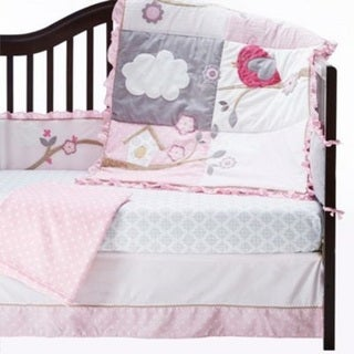 Baby's First Little Birdie Garland 5-piece Crib Bedding Set