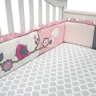 Baby's First Little Birdie Garland 4-piece Crib Bumper
