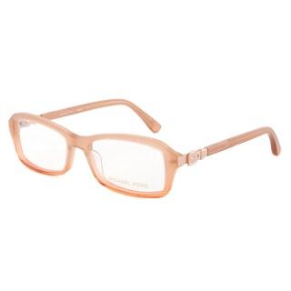 Michael Kors MK868 276 Optical Eyeglasses Frame, Peach Gradient/Size 52