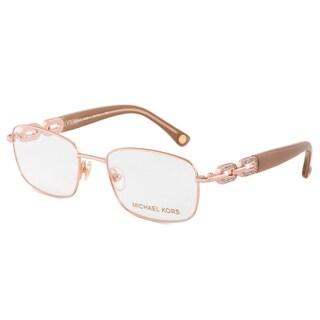 Michael Kors MK365 780 Optical Eyeglasses Frame, Rose Gold/Size 51