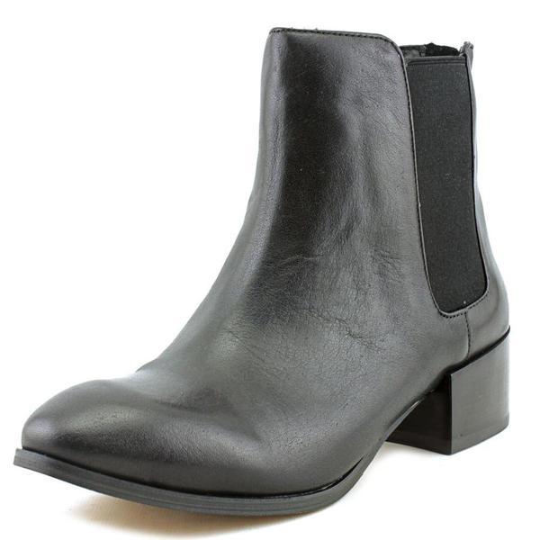 Women's Steve Madden Jodpher Chelsea Boot Black Leather