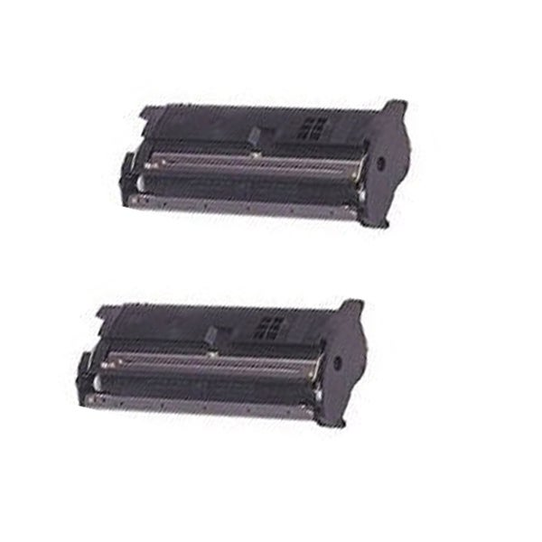 QMS 2200 Black Compatible Toner Cartridge For 2200DL 2200W 2250EN ( Pack of 2 )