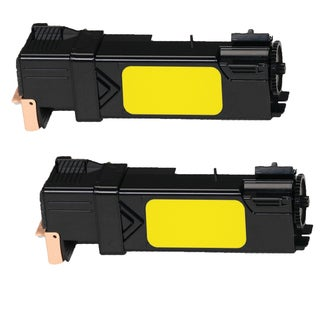 Xerox 6500 Compatible Toner Cartridge Yellow For 6500 6505B 6050 ( Pack of 2 )