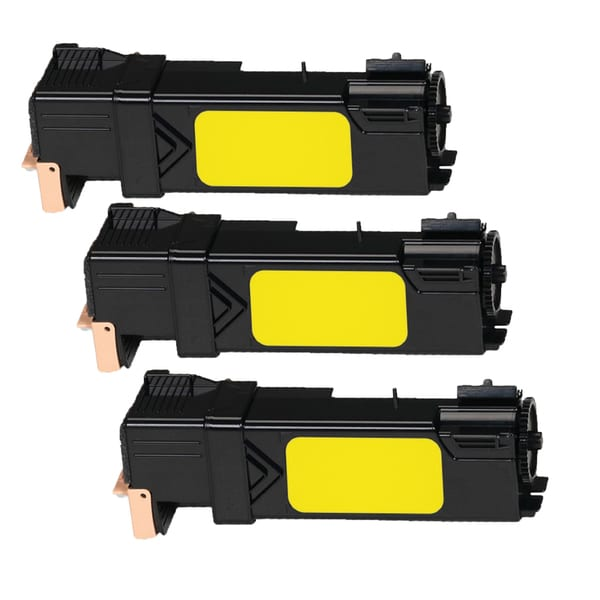 Xerox 6500 Compatible Toner Cartridge Yellow For 6500 6505B 6050 ( Pack of 3 )