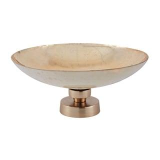 Dimond Home White Mercury Bowl