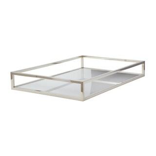 Dimond Home White Rectangular Box Rod Tray