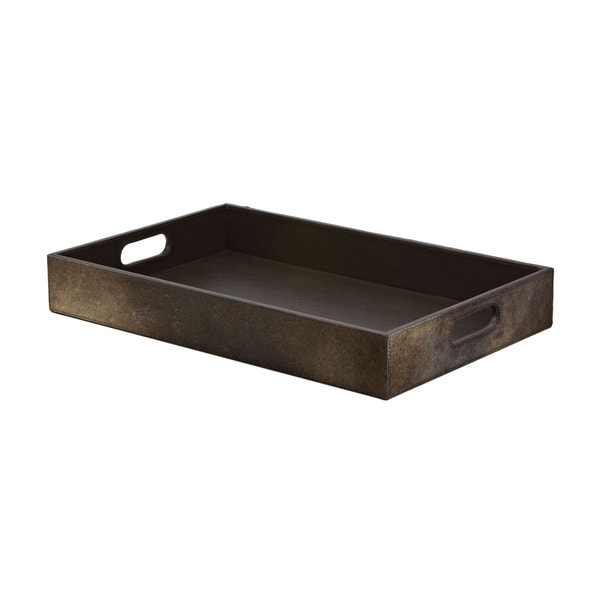 Dimond Home Chestnut Faux Pony Tray