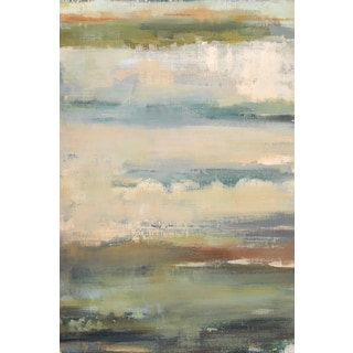 Portfolio Canvas Decor Elinor Luna 'Atmos Phere II' 24x36 Framed Canvas Wall Art
