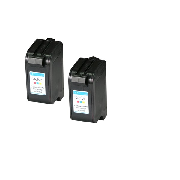 HP C6625 Black Compatible Inkjet Cartridge For Deskjet Deskjet 843C Deskjet 84 Deskjet 845C Deskjet 845Cvr ( Pack oF 2 )