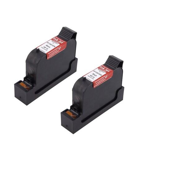 HP C6615 Black Compatible Inkjet Cartridge For PSC:PSC 500 PSC 500xi PSC 750 PSC 750xi PSC 950 PSC 950vr PSC 950xi ( Pack of 2 )
