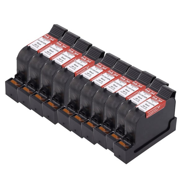 HP C6615 Black Compatible Inkjet Cartridge For PSC: PSC 500xi PSC 750 PSC 750xi PSC 950 PSC 950vr PSC 950xi ( Pack of 10 )
