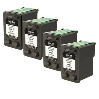 HP C9351A XL (HP 21) Black Compatible Inkjet Cartridge For D1320 , D1330 , D1341 , D1360 , D1420 , D1430 ( Pack of 4 )
