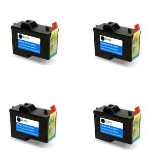 Dell (X0502) 7Y743 (Series 2) Black Compatible Inkjet Cartridge A940Dell A960DELL (Pack of 4)