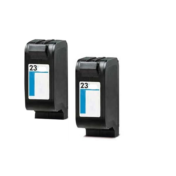HP C1823 (HP 23) Black Compatible Inkjet Cartridge For Color Copier 155 , Color Copier 260 , DeskJet 1120c ( Pack of 2 )