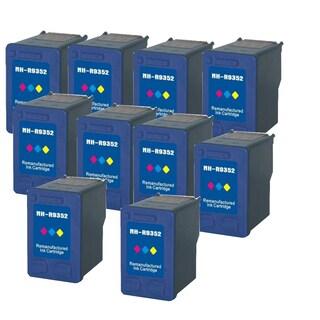 HP C9352A XL (HP 22) Black Compatible Inkjet Cartridge For D1360 , D1368 , D1560 , D1568 , D2320 , D2330 ( Pack of 10 )