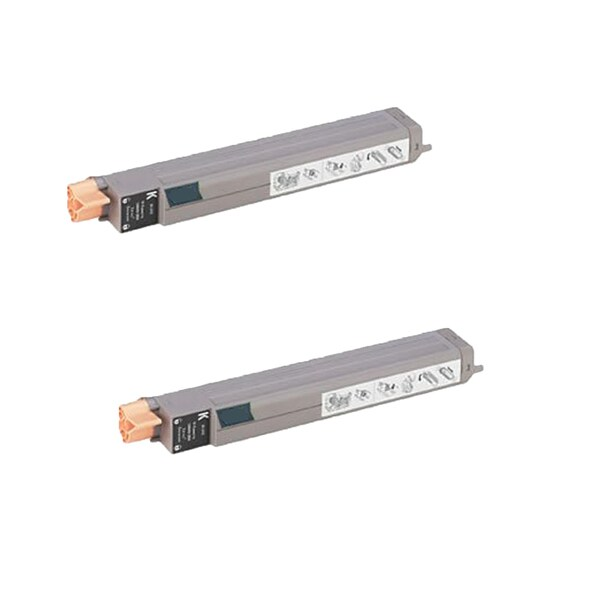 Xerox 7400 Compatible Toner Cartridge High Yield Black For 7400 7400N ( Pack of 2 )