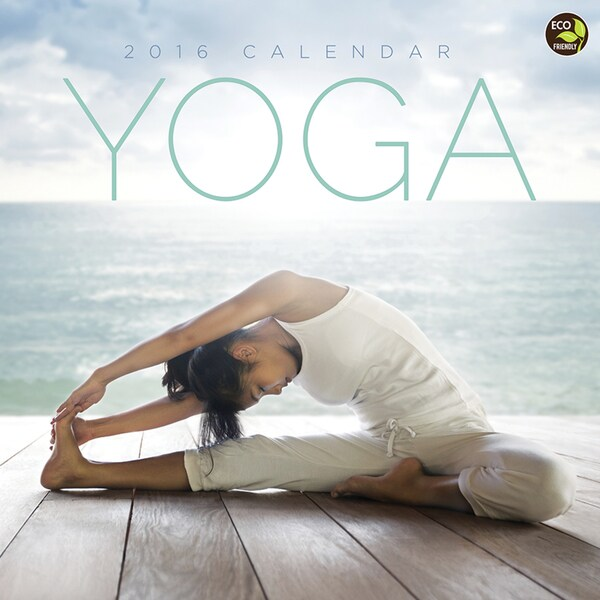 2016 Yoga Wall Calendar
