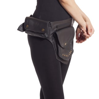 One Pocket Leather Utility Belt