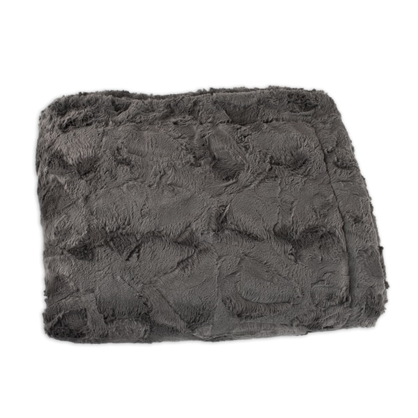 Charcoal Animal Print Throw
