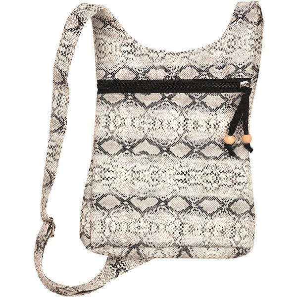 Snakeskin Travelette Mini Tote
